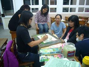 Photo: 20111018竹南(二)啟發式素描與插畫(社區巷弄篇)002