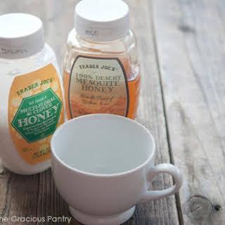 Clean Eating Honey Milk.