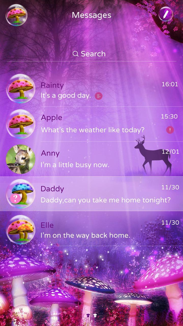 Скриншот GO SMS PRO THE DREAM THEME