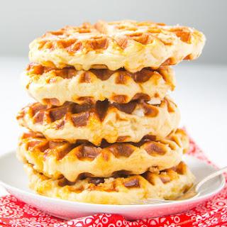 Belgian Liege Waffles.