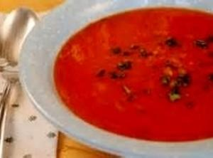 Quick Tomato-rice Soup Recipe