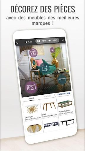 Code Triche Design Home apk mod screenshots 5