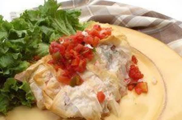 Swordfish Wrapped In Filo Pastry Recipe