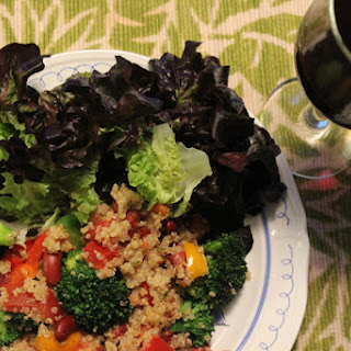 Frijoles & Broccoli Quinoa