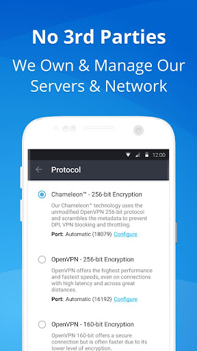 VPN - Fast, Secure & Unlimited WiFi with VyprVPN  screenshots 5