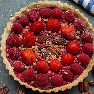 Decadent Layered Berry Pie
