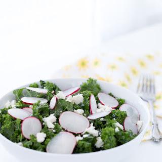 Kale Salad with Radishes and Lime Vinaigrette Recipe