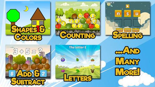 Preschool and Kindergarten Learning Games apklade screenshots 2