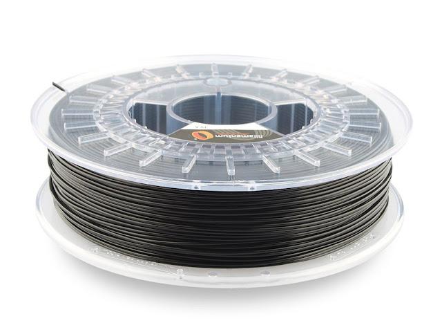 Fillamentum Extrafill Traffic Black PLA Filament - 2.85mm (0.75kg)
