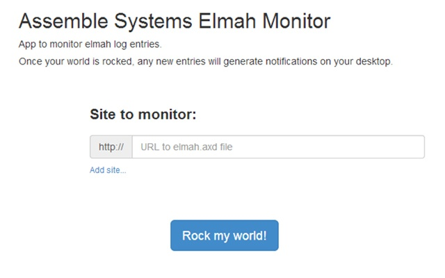 Assemble Systems Elmah Monitor