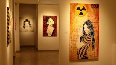 Photo: Galerie 30Works; Sushi Connection; Solo Show MITTENIMWALD; Mamiko & Mei Ling III & Sakura