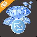 FF Calc | Free Diamonds Calculator and Converter icon
