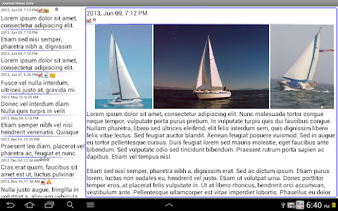 Journal Notes Multimedia screenshot 9