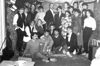 Photo: wigilia szkolna 1986 r kl.4 ceramicy, Z.Tabaszewska, E.Molski, B.Szota, W.Hyży