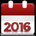 Calendar 2016 icon