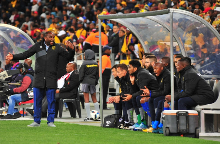 Cape Town City head coach Benni McCarthy reacts with his bench during the Absa Premiership match against Kaizer Chiefs at Cape Town Stadium on September 13, 2017 in Cape Town, South Africa.