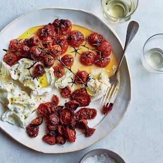 Buffalo Mozzarella with Neat and Messy Roasted Tomatoes