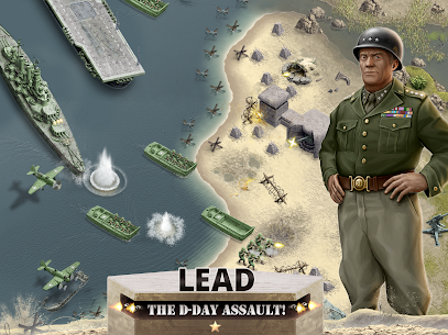 1944 Burning Bridges – a WW2 Strategy War Game Apk Download For Android and Iphone 7