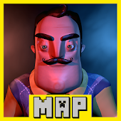 Map of Hello Neighbor for MCPE