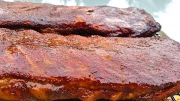 Meet Me In St Louis Apple Whiskey Smoked Ribs