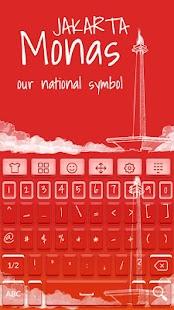 Jakarta Keyboard - náhled