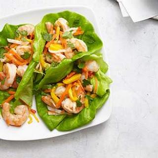 Vietnamese Shrimp & Mango Lettuce Wraps