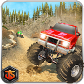 Monster Truck Racing Game: Crazy Offroad Adventure