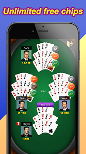 Chinese Poker / Capsa Susun- screenshot thumbnail