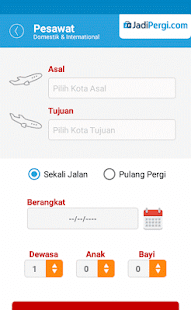 JadiPergi.com Mobile- screenshot thumbnail
