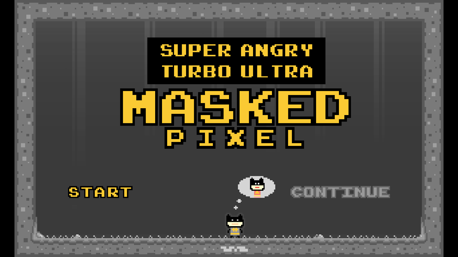 Super Angry Masked Pixel- screenshot