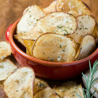 Parmesan Rosemary Potato Chips.