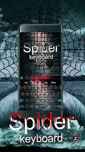 Blood Spider Keyboard - náhled