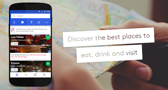 Foursquare — Best City Guide- screenshot thumbnail