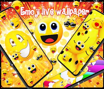 Emoji live wallpaper 101