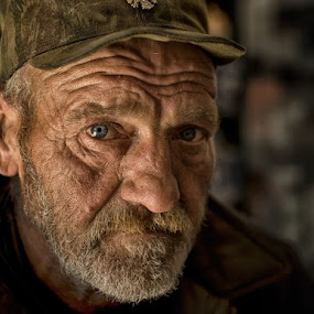 by Jasna Petrovic-Zivkovic - People Portraits of Men ( senior citizen )