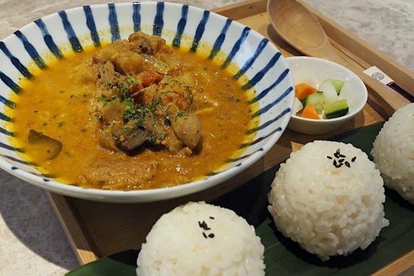 台北大安。米販咖啡 Café de Riz x 想想廚房・日式米飯糰套餐/特色甜點午茶