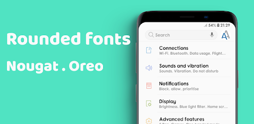 Rounded Fonts for Samsung Galaxy – Apps no Google Play