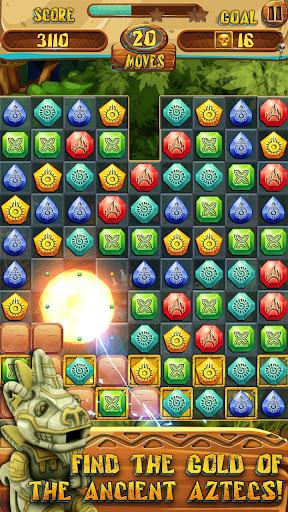 Match 3 Jewels: Aztec Gold  screenshots 1
