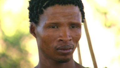 Photo: San Bushman: Journey of Man - PBS - National Geographic Source: http://news.nationalgeographic.com/news/2002/12/photogalleries/journey_of_man/index.html  Review: http://maya-gaia.angelfire.com/journey_of_man.html