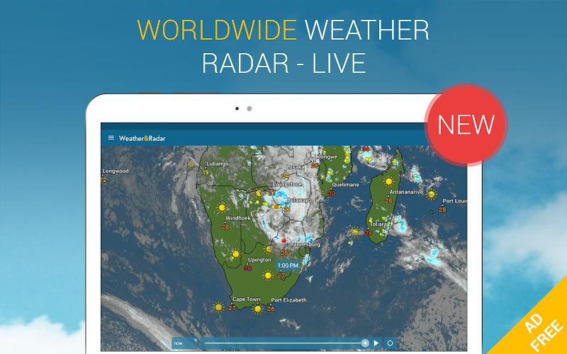 Weather & Radar Pro - Ad-Free Screenshot 7