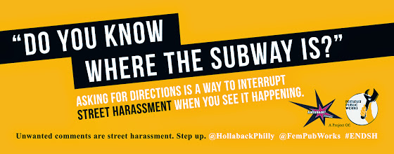 Photo: 4.1.14 New transit ads in Philly, USA http://www.feministpublicworks.org/transit-ad-campaign/