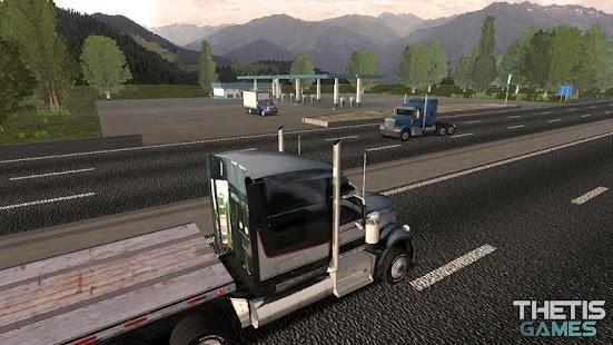 Truck Simulator Europe 2 HD Screenshot
