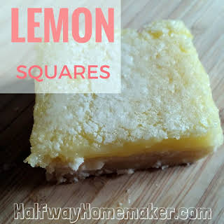 Lemon Squares With Lemon Pie Filling Recipes.