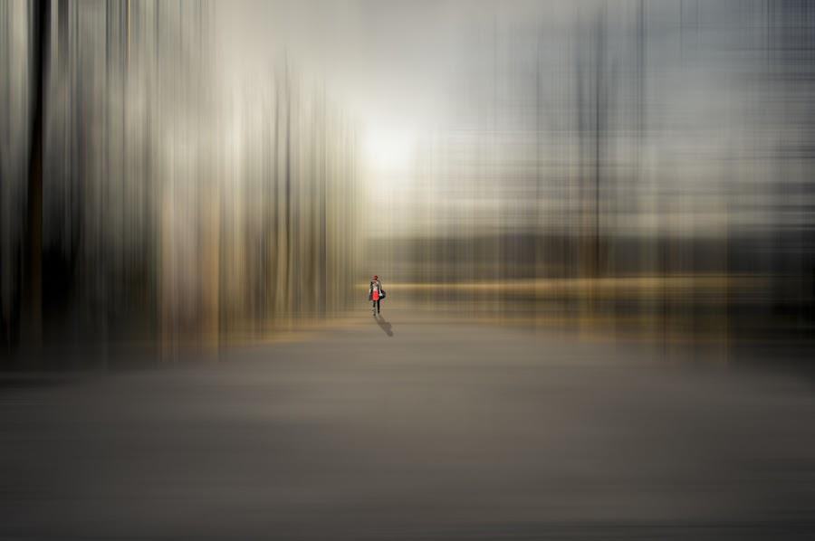 I'm leaving by Rafael Kos - Digital Art People ( person, shadow, art )