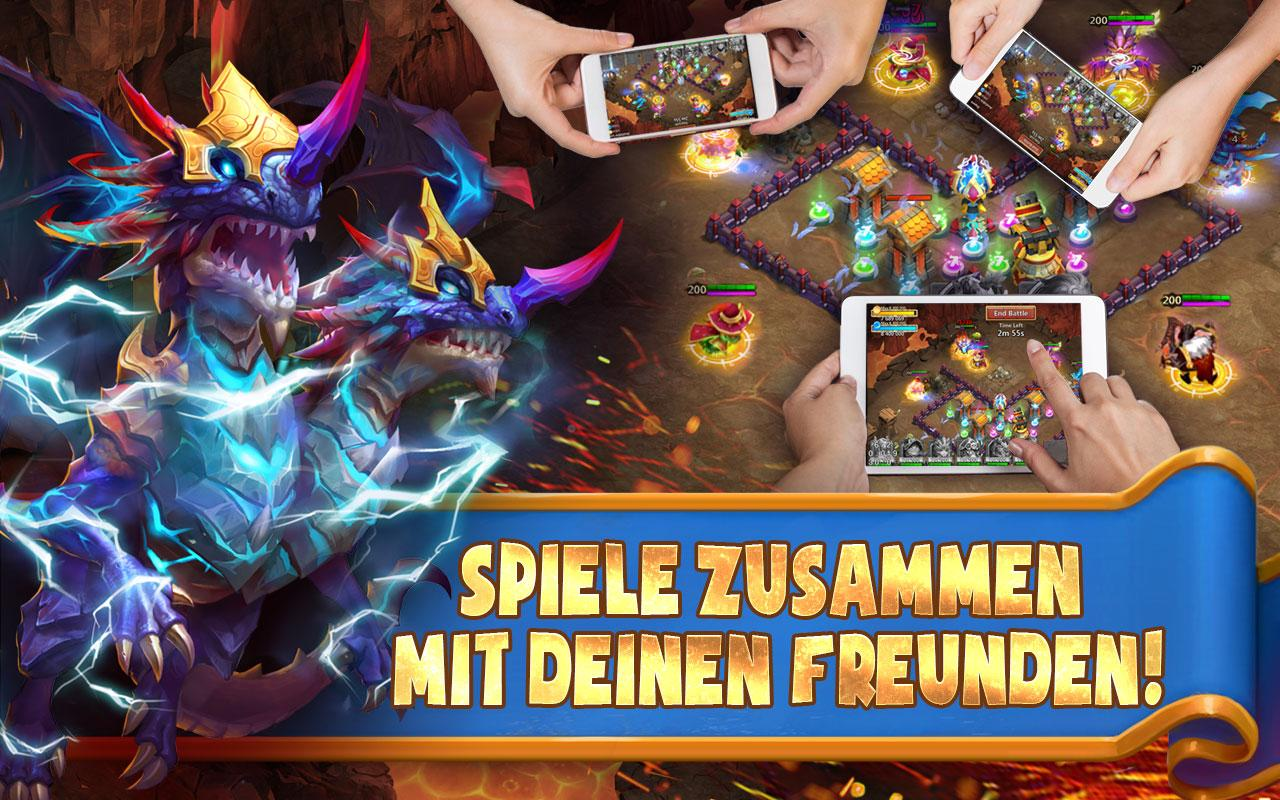 Castle Clash: Königsduell- screenshot