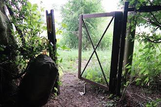 Photo: La porte aux paturages