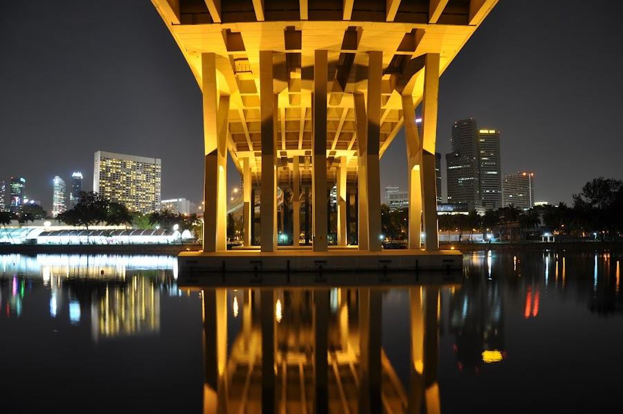 Under the GOLDEN bridge :) by Danny Chua - Buildings & Architecture Bridges & Suspended Structures