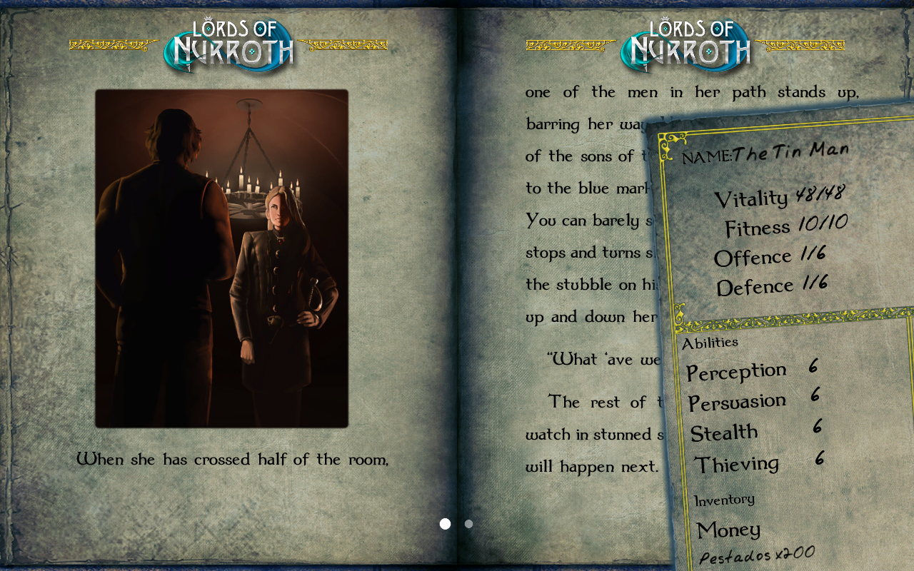 GA 10: Lords of Nurroth- screenshot