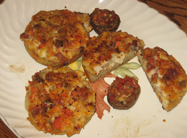Mushroom Crab Melts....... Recipe