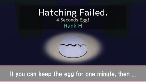 1 Minute Egg -Super Difficult!